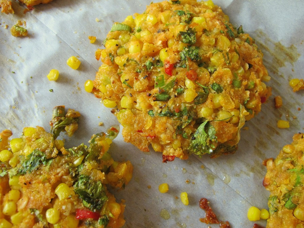 vegan corn patties4