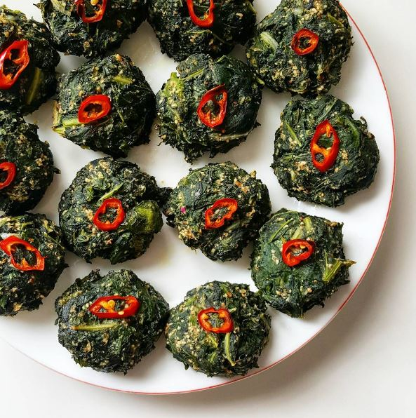 chard patties